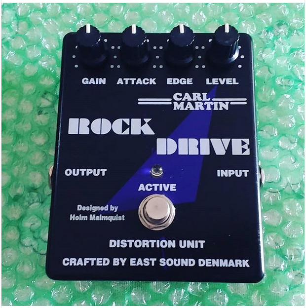 Carl Martin Rock Drive Analog Distortion