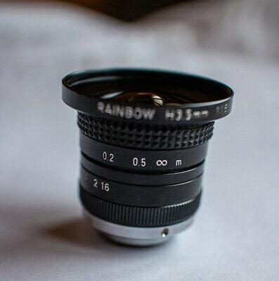 Rainbow H3.5mm 11.6 Cctv Zoom Lens Japan