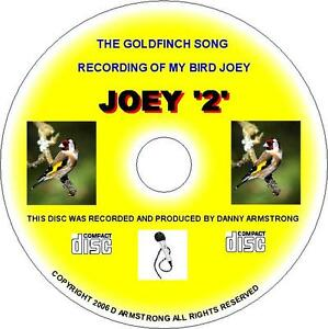 PURE ENGLISH GOLDFINCH SONG CD - JOEY 2