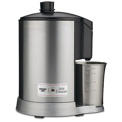 New Waring Pro JEX328 Health JUICE EXTRACTOR Brushed Stainle