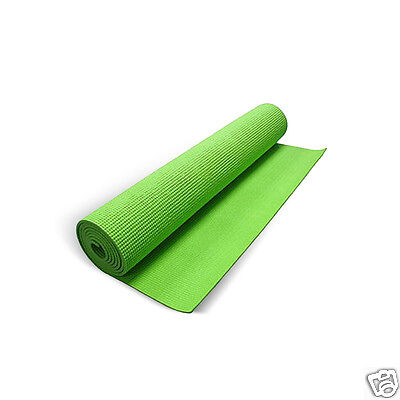 Yoga   Exercise 56  Non Slip Shock Absorbing Pad   Wii Fit Workout Mat By Intec