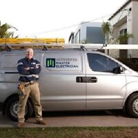 ACCREDITED MASTER ELECTRICIAN $50 P/H