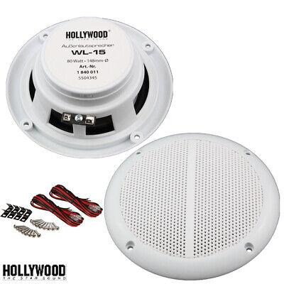 2x Marine Wasserdichte Einbau Lautsprecher Sauna Feuchtraum,Paar ,Outdoor