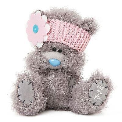 "Me to You 8"" Plush Bear & Pink Flower Headband - Tatty Teddy"