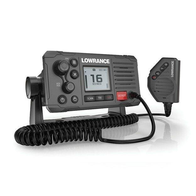 Lowrance Link-6S Class D DSC VHF Radio - Gray - NMEA 0183 [000-14493-001]