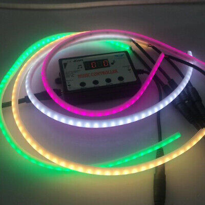 12V SMD 2835 Flexible LED Strip Waterproof Neon Ribbon Light silicone tube Sign ()