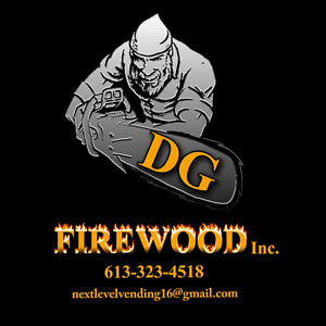 DG FIREWOOD INC. * log truck loads, saw logs, firewood sales