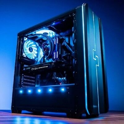 AMD Gaming PC Computer Custom Built Desktop 6 Core GTX 1050 8GB RAM 2TB HDD