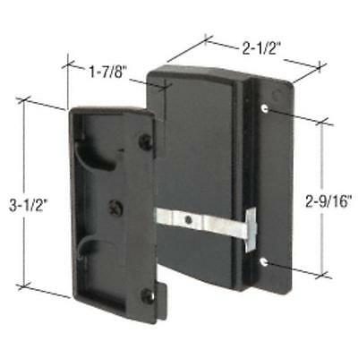 CRL Sliding Screen Door Latch and Pull with 2-9/16