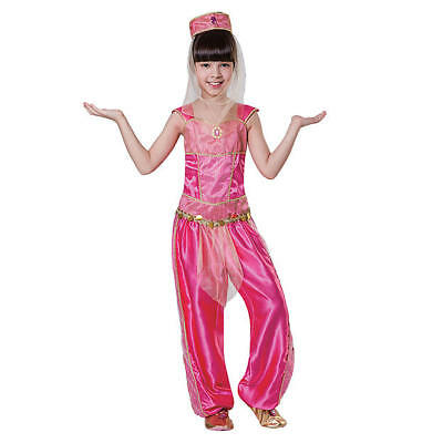 Totally Ghoul Girls Halloween Arabian Princess Costume Size Medium - New - Arabian Princess Costume For Girls