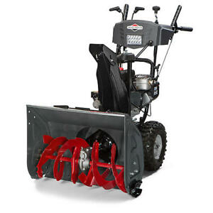 "Briggs & Stratton 11.5 TP 27"" Medium-Duty Dual-Stage Electric St"