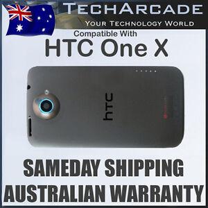 HTC One X Back Rear Housing Battery Cover Case Genuine Original S720E G23 Black