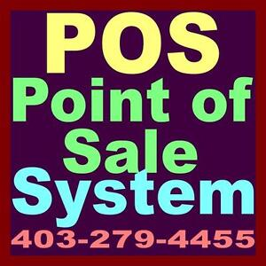 POS Point of Sale System with Touch Screen Monitor