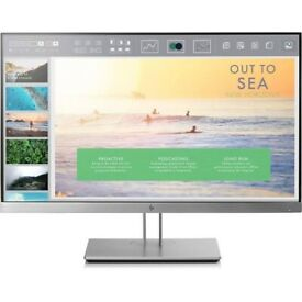 """HP EliteDisplay E233, 23"""" Full HD Widescreen LED Monitor - Boxed With Cables"""