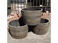 Reclaimed Original Whiskey Barrels