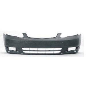 New Painted 2003 2004 Toyota Corolla Front Bumper