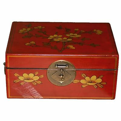 Oriental Decoration Red Box -Traditional Chinese (SC-M1R)