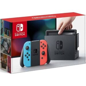 Nintendo switch in the box