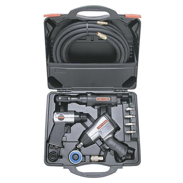 Craftsman 10 Pc. Air Tool Set Air Compressors Tools Hamme...