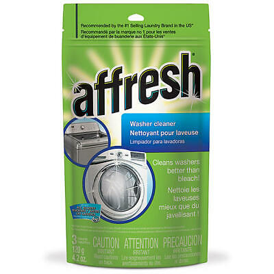 Affresh W10135699 Whirlpool Tablets Washing Machine Cleaner, 3 Count