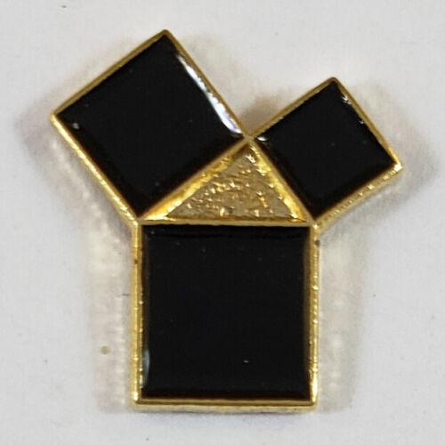 Masonic 47th Problem of Euclid Lapel Pin Mason Freemason