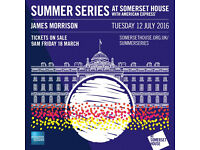 JAMES MORRISON - SOMMERSET HOUSE 12.07.2016 - SOLD OUT
