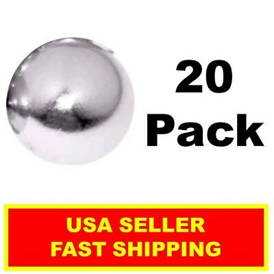 Neodymium Sphere Magnet 12 Inch N52super Strong Ball Rare Earth 20 Pack