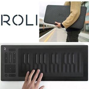 NEW ROLI SEABOARD MIDI CONTROLLER - 123158746 - WITH SILVER FLIP CASE - SEABOARD RISE 25 KEY MIDI KEYBOARD CONTROLLER