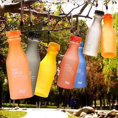 550ml Outdoor Sport Camping Portable Travel Unbreakable Drink water bottle cup