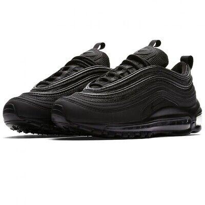 Nike Air Max 97 OG Triple Black Size 3.5 UK (4 Y) BNIB 100% Authentic