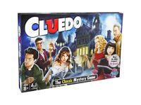 New & Sealed Hasbro Cluedo Board Game