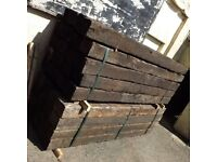 Reclaimed Grade A Oak Railway Sleepers