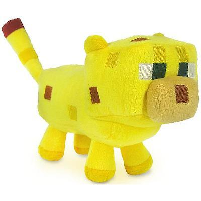 Minecraft Baby Ocelot Plush Toy   New   Free Fast Usa Shipping