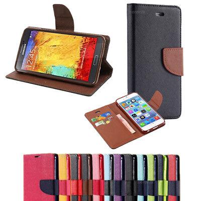 Handy Tasche für Samsung Galaxy S5 / S5 NEO Flip Case Cover Schutz Hülle Etui ()