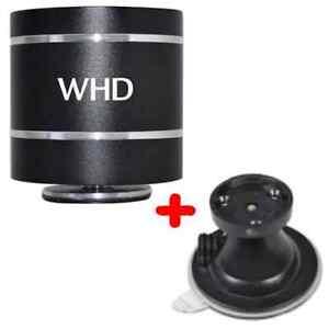 WHD Soundwaver Bluetooth Lautsprecher + Saugfuß Smartphone, iPhone, iPad, MP3