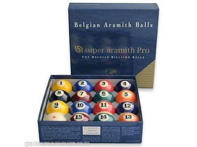 New Belgian Wonderful ARAMITH PRO Pool Balls
