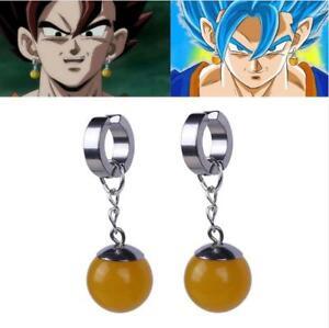 X1 Super Dragon Ball Z Cosplay Dbz Vegetto Potara Earring Earrings Ear Stud
