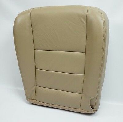 2002 03 04 05 06 2007 Ford F250 F-350 Super Duty Lariat Driver Bottom Seat Cover