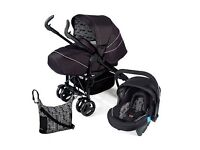 Silver Cross 3D Travel System Ltd Edition with Accessories - Includes ISO Fix Base