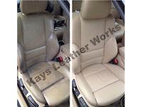 Leather Repair, Mobile Car Seat repair/ Sofa leather repair, connollising, recolour, restoration