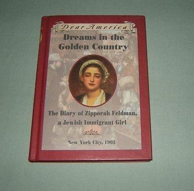 Book Hc Dear America   Dreams In Golden Country   Jewish Immigran Girl 1903