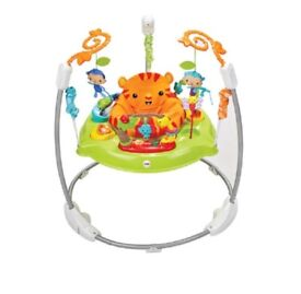 Jumperoo- rainforest- fisher price