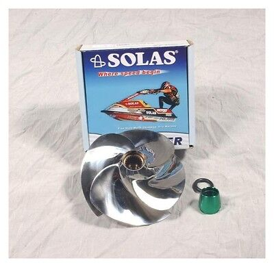 Sea Doo GTX 4-Tec Supercharged Solas Stainless Impeller 13/21 2003-2006