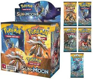 Sun And Moon Pokemon cards - Booster box Plus Mega EX card. Malvern Stonnington Area Preview