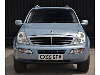Ssangyong rexon 2.7d mercedes engine low mileage.
