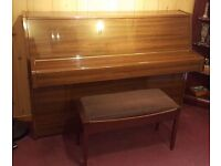 Yamaha LU 101 Upright Piano & stool - in excellent condition.