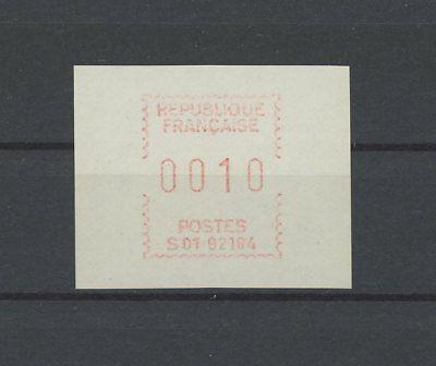 FRANCE ATM AUTOMATENMARKE ** MNH m1123