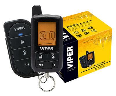 Viper Car Alarm & Remote Starter 2-Way LCD Remote 5305V NEW 1/4 Mile Range