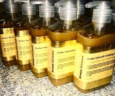 Best Natural Cleanser - Krees Skincare Amber Hydrosilk Exfoliating Cleanser (Best Face Exfoliator For Acne)