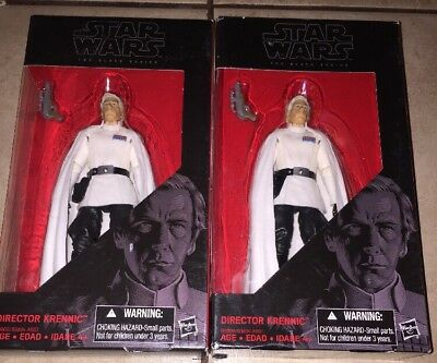"BRAND NEW!  Hasbro Star Wars Black Series 6"" DIRECTOR KRENNIC includes one only"